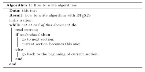 make algorithm create separator lines for algorithm captions in