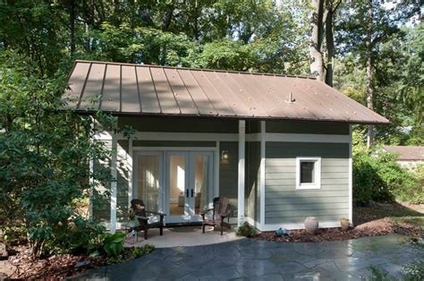 tiny house with garage garage converted into 340 sq ft tiny cottage
