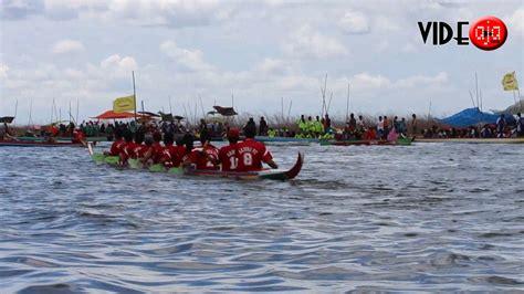 Perahu Dayung Perahu Mini Danau Perahu pesta rakyat lomba perahu dayung danau tempe maccera tappareng kel kaca marioriawa soppeng