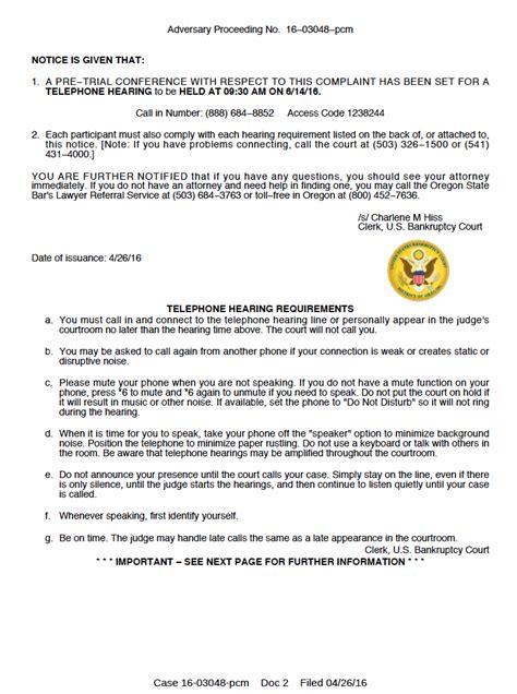 Complaint Letter Format For Home Loan file bankruptcy complaint oregon student debt