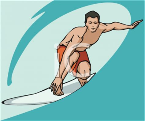 royalty free surfing clip art, sport clipart
