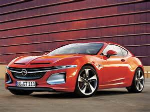 Opel Gt Coupe Car24news New Opel Gt Coupe Concept Will Debut At