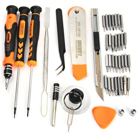 Jakemy 6 In 1 Repair Tools Screwdriver Kit For Iphoneipad Jmi84 jakemy 45 in 1 precision screwdriver repair tool kit jm