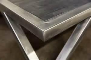 table basse bois et acier table basse design bois et acier phaichi