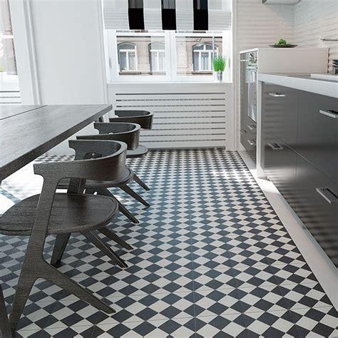 küchenfliesen bauhaus palazzo vintage zementfliese mods 20 x 20 cm schwarz