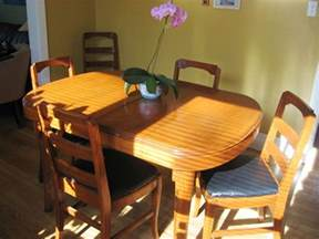 How To Refinish A Dining Room Table by How To Refinish A Dining Table Amp Chairs Apartment Therapy