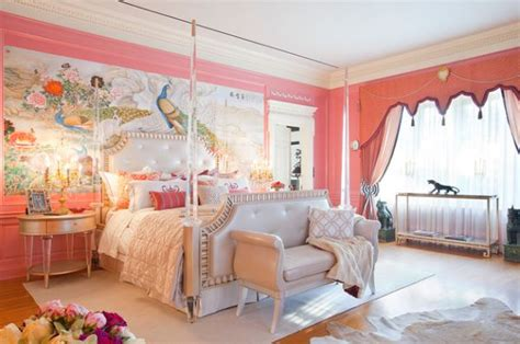 Wall Murals For Teenagers stylish girls pink bedrooms ideas
