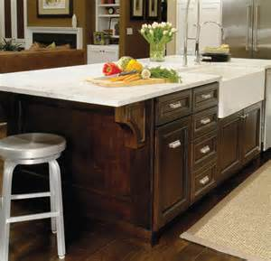 traditional kitchen island with farmhouse sink traditional kitchen denver by kitchens by
