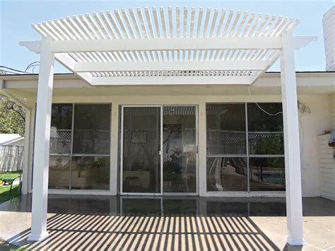 Los Angeles Patio Covers by Vinyl Patio Covers Louvred Patio Covers Los Angeles Ca