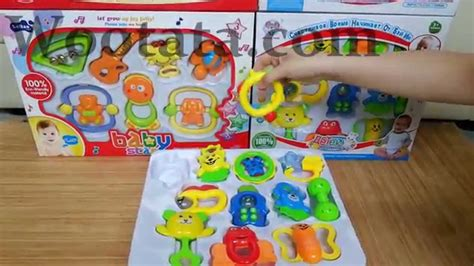 Mainan Bayi 3 Bulan Lucu jual baby set mainan bayi 3 bulan murah