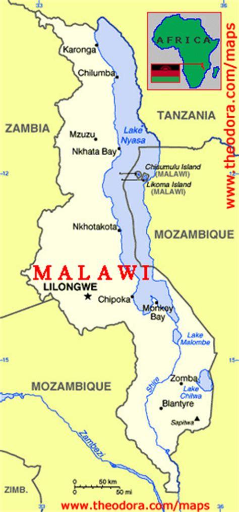 geographical map of malawi malawi maps economy geography climate