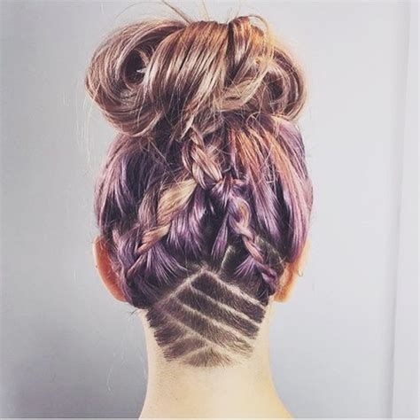 pattern undercut 50 women s undercut hairstyles to make a real statement