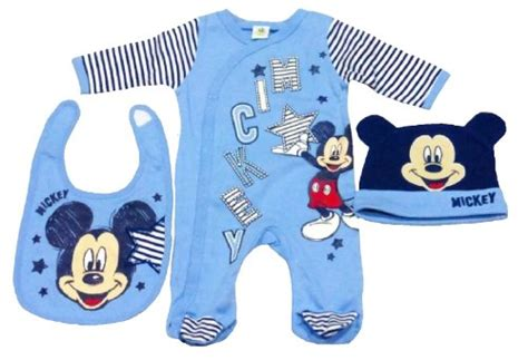 disney mickey mouse baby boy clothes set with all in one