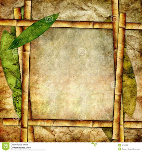 Paper From Bamboo - bamboo paper stock photography image 6279422