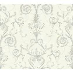 black and white damask wallpaper home depot york wallcoverings black and white neo classic damask