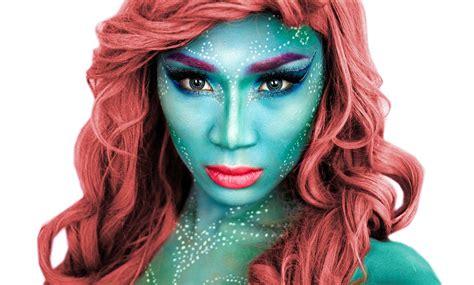 makeup tutorial little mermaid mermaid halloween makeup tutorial theprinceofvanity