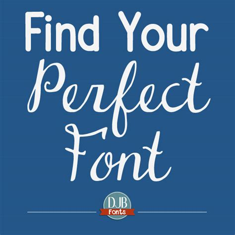 find your perfect home find your perfect font darcy baldwin fonts