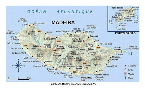 0004488997 carte touristique madeira en infos sur madere carte arts et voyages