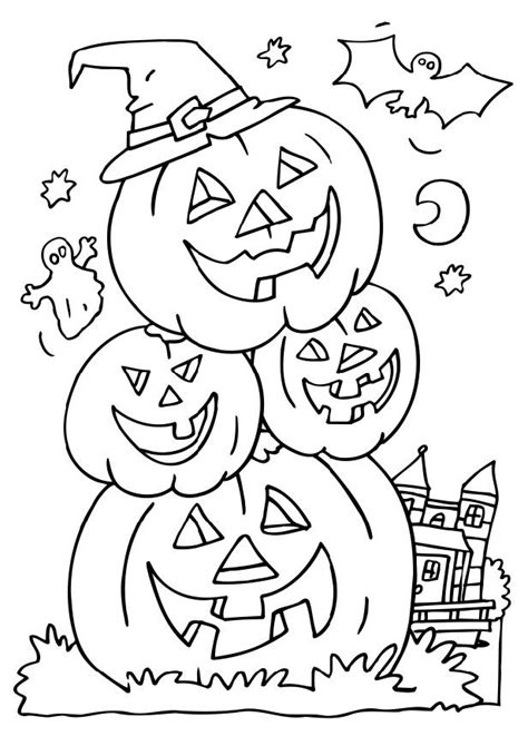 coloring pages to print of halloween halloween coloring pictures coloring pages to print