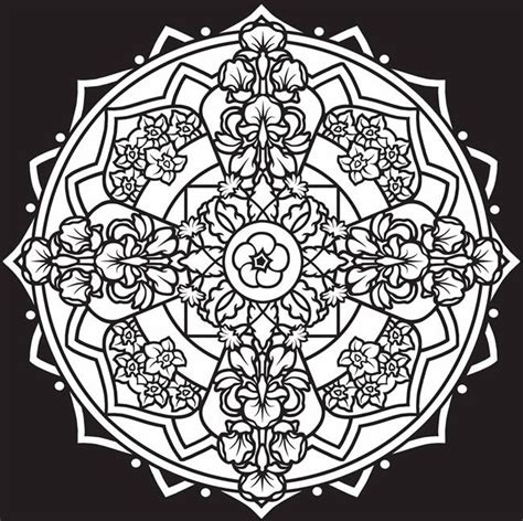 mandalas stained glass coloring book pdf 265 best coloring mandalas printed or bought images on
