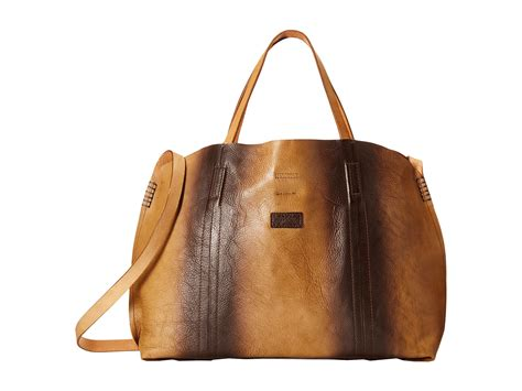 bed stu purses bed stu del ray bag in brown lyst