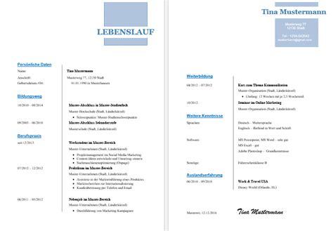 Lebenslauf Vorlage Powerpoint Kostenlose Lebenslauf Vorlagen Office Lernen