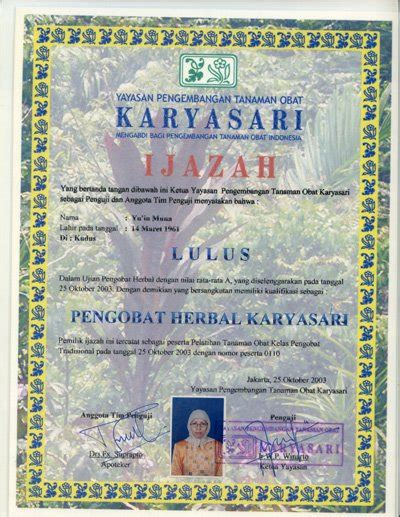 Obat Herbal Gentong prestasi kami gentong sehat resto herbal resto herbal terlengkap pertama di indonesia