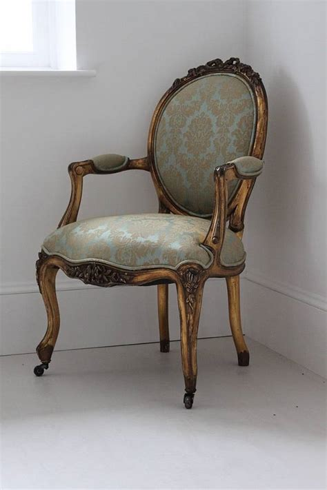 Louis Armchairs by Gold And Turquoise Louis Armchair By Out There Interiors