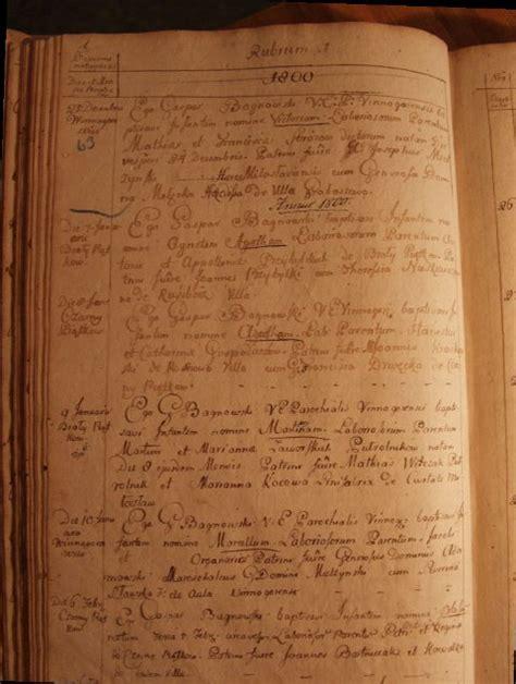 Birth Records Pre 1864 Halgal Genealogy Of Halychyna Eastern Galicia