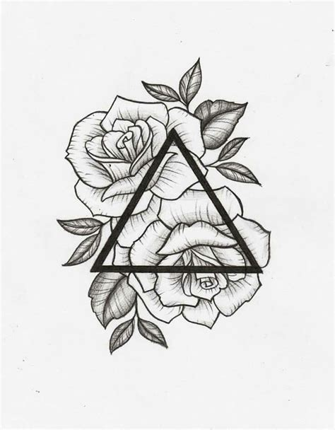 amazing tattoo designs drawings best geometric this would be cool in between the
