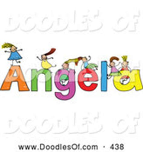 Royalty Free Angela Stock Doodle Designs