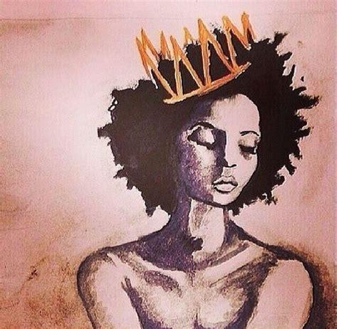 black queen art pin by martina rivers on black art pinterest crown art