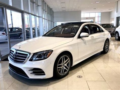 new 2018 mercedes benz s class s 560 4matic® sedan 4dr car