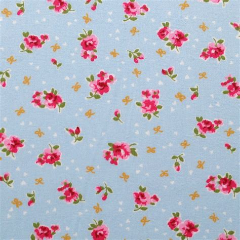 english rose sky blue overdale fabrics