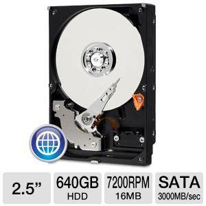 Hardisk Laptop Wd 640gb wd blue wd6400aaks 640gb desktop drive 3 5 sata 7200rpm 16mb cache at tigerdirect