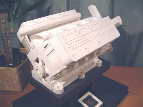 Papercraft Engine - don t feel like working do some paper craft