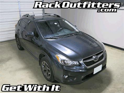Impreza Roof Rack by Rack Outfitters New Subaru Impreza Sport Whispbar Silver