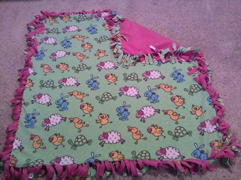 How To Make Handmade Blankets - no sew fringe fleece blanket 183 a fleece blanket 183 version