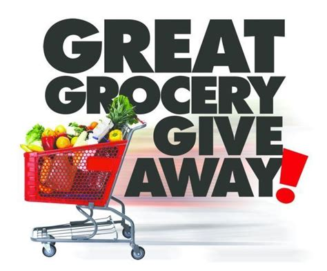 Grocery Sweepstakes - great grocery giveaway starts monday daily journal news dailyjournalonline com