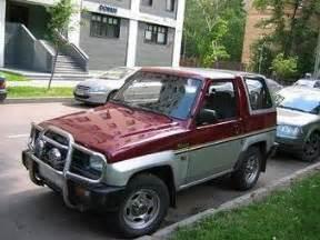 1992 Daihatsu Rocky Used 1992 Daihatsu Rocky Photos 1 6 Gasoline Manual For