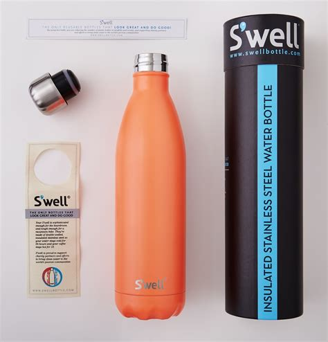 s well buy s well wood collection stainless steel water bottle