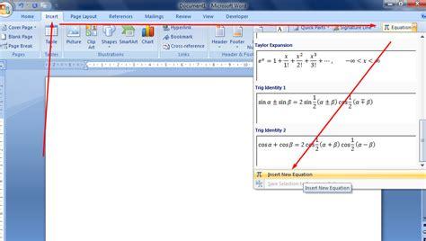 membuat rumus matematika di power point mengetik rumus matematika pada microsoft word deuniv