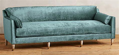blue velvet couch anthropologie searching for the perfect velvet sofa