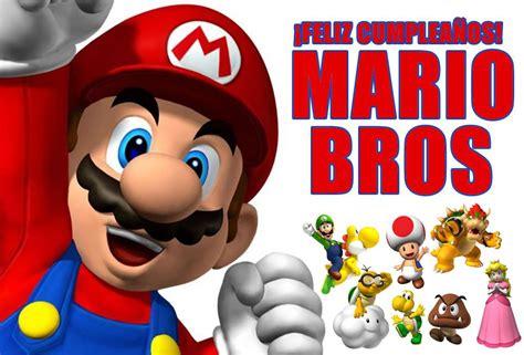 Imagenes De Feliz Cumpleaños Mario | 161 feliz cumplea 241 os mario bros diario la prensa