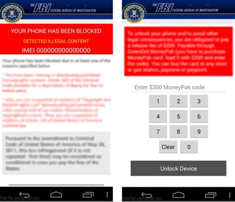 remove virus android remove fbi vanilla reloadcard virus on android phone removal guide