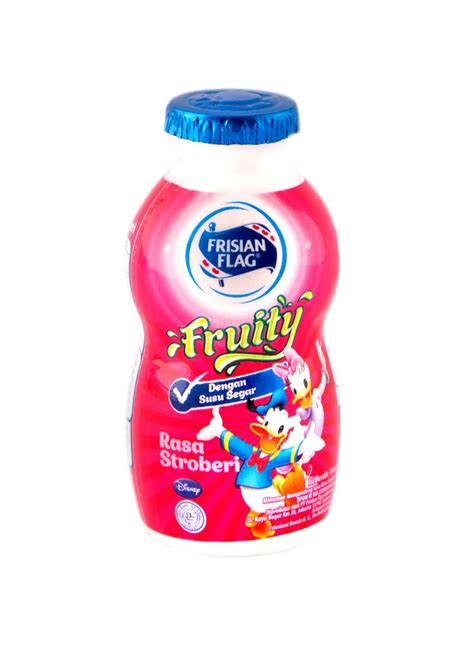 Frisian Flag Cair Stroberi frisian flag cair fruity strawberry btl 120ml