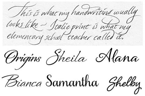 writing styles handwriting styles pretty handwriting a lost