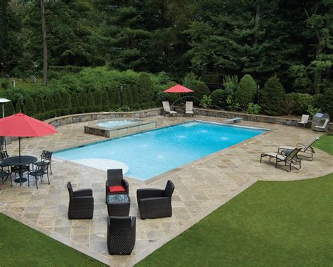 Backyard Rectangle Pools Pools Nj Pool Builder Lists 5 Things To Ask Before