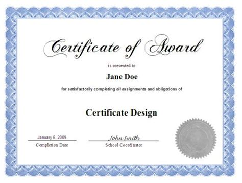 web design certificate nj exles of certificates e learning courses tips and