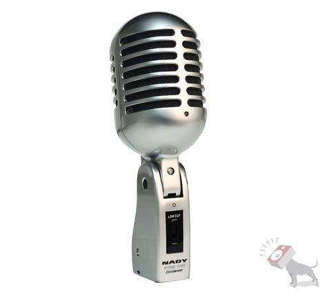 condenser microphone nady pcm 100 classic cardioid condenser mic studio broadcasting vocal microphone